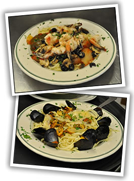 Dining Room Seafood Dishes